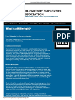 Millwright - What is Millwright