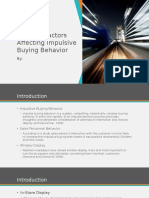 External Factors Affecting Impulsive Buying Behavior
