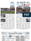 The Daily Tar Heel for Jun. 2, 2016