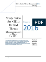 Module 3 NSE1 Unified Threat Management Study Guide