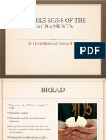 4 Visible Signs of the Sacraments