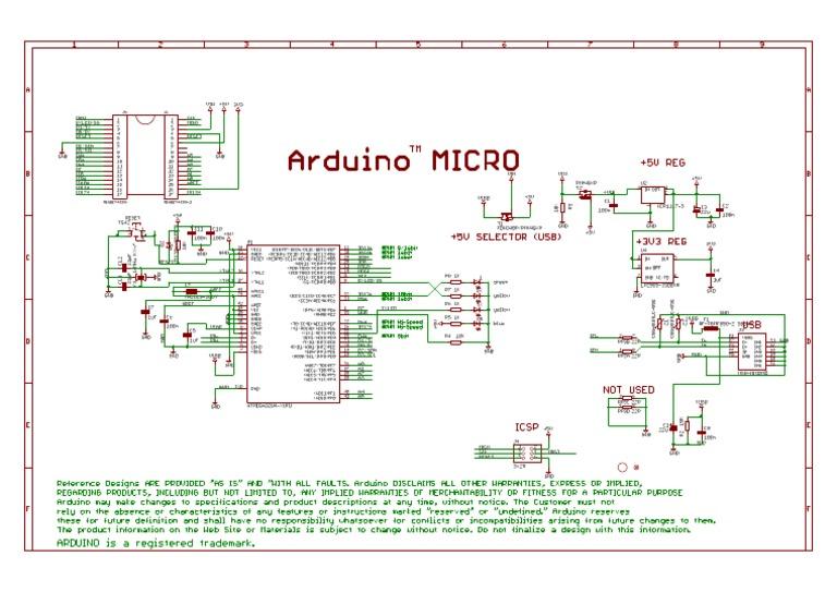 arduino micro schematic