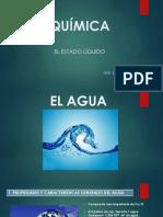 El Agua Propiedades y Características