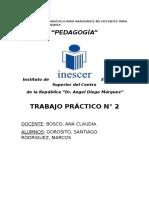 Relaciones pedagogicas