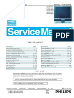 Philips 190x6_170x6 Service Manual