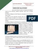 Anodos de Magnesio