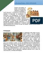 Pedagogia - Educacion