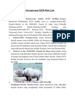 Kategori Status Konservasi IUCN Red