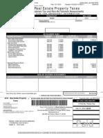 Miami Dade County Real Estate 01 4138 080 3530 2015 Annual Bill