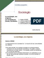 02 La Sociología - Sus Orígenes Comte Durkheim