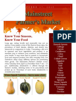 Farmers Market Newsletter