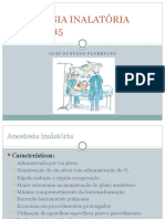 Anestesia Inalatória