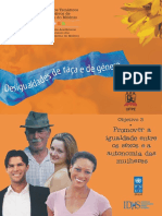 Estudos Temáticos Sobre Os Objetivos Do Milênio - Desigualdades de Raça e Gênero(UFPE)