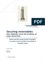 Securing renewables