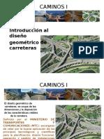 1.00 Introduccion Caminos i
