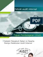 Tehnik Audit Internal