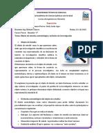 Informe .Objeto de Estudio