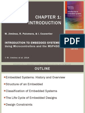 Chapter 1 Embedded System Microcontroller Free 30 Day Trial Scribd