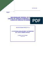 A Economia Brasileira No Período Do Novo Liberalismo