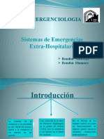Sistema de Emergencia Extrahospitalario