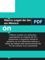 Marco Legal de Las Tics en Mexico