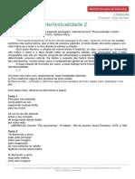 Materialdeapoioextensivo Literatura Exercicios Intertextualidade 2