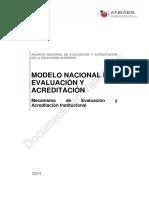 01 Mecanismo de Evaluacion Institucional