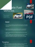 Alternate Fuel Vehicles