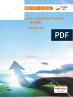 Technical textile investor guide india