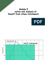 Urban Runoff Estimation