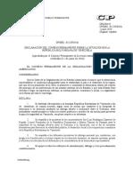 OEA resolucion del Consejo Permanente sobre Venezuela