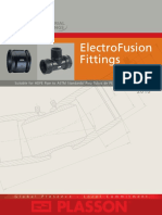 Plasson ElectroFusion Fittings Suitable for HDPE Pipe to ASTM Standards 2010