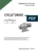Maintenance Cyclo 6000 - CM2001E 7