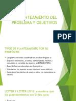 criterios para el planteamiento del problema