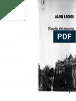 Badiou Circunstancias y Filosofc3ada
