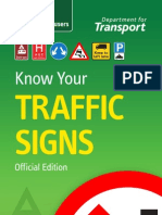 Know Your Trafic Signs
