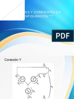 Voltajes y Corrientes en Configuración Y