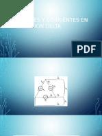 Voltajes y Corrientes en Conexión Delta