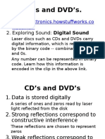 cds and dvd