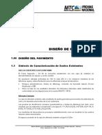 6.1 Diseño de Pavimentos