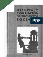 Disen_o y Evaluacio_n de Proyectos Sociales