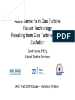 Advances In Gas Turbine Repair Technology