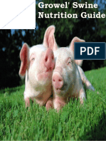 Growel' Swine Nutrition Guide