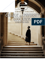 college and university education in us