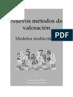LIBRO Nuevos Métodos de Valoración Modelos Multicriterio