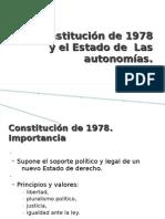 La Constitución de 1978 y el Estado de