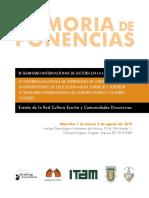 Memoria del IV Seminario Internacional de Lectura en la Universidad