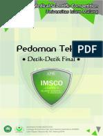 Pedoman Teknis Final IMSCO 2016