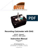 Recording Calcimeter With DAQ