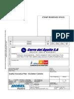 PE-ADZ-7E05010104-PIT-712-R00 Powerhouse - Quality Assurance Plan - Excitation Cubicles